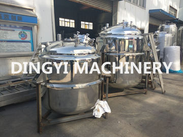 50-10000L Stainless Steel Process Tanks / Chemical Tanks For Liquid Detergent